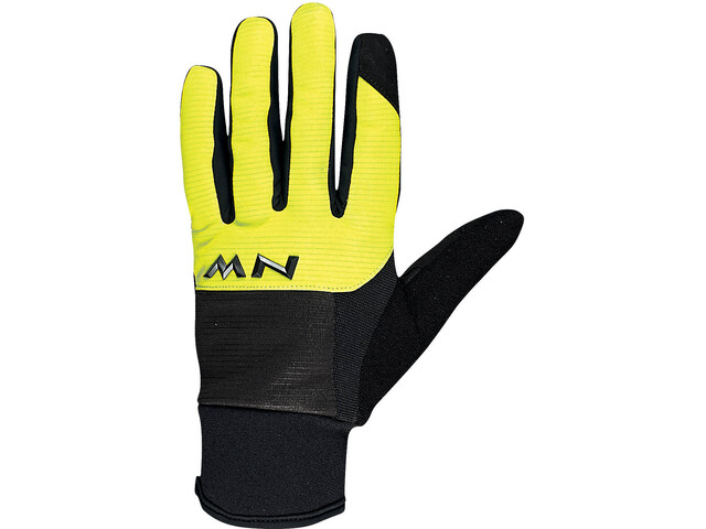 Northwave Power 3 Gel Pad Gloves black/yellow fluo